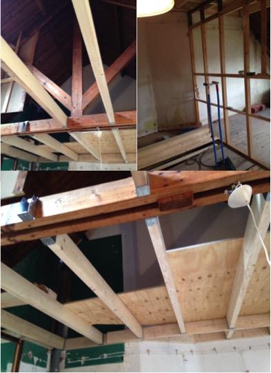 Huis verbouwing zolder